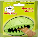 Jolly Pets Monster Mouth Dog Toy 3-Inch