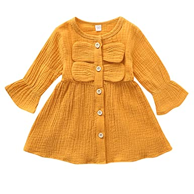Chennie niños niñas pequeñas Trajes de Vestir Lindo Vestido de ...