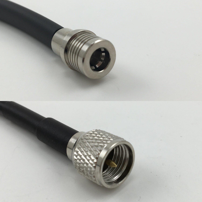 Cable coaxial de alta calidad RG58 QMA para Mini UHF MALE Pigtail ...