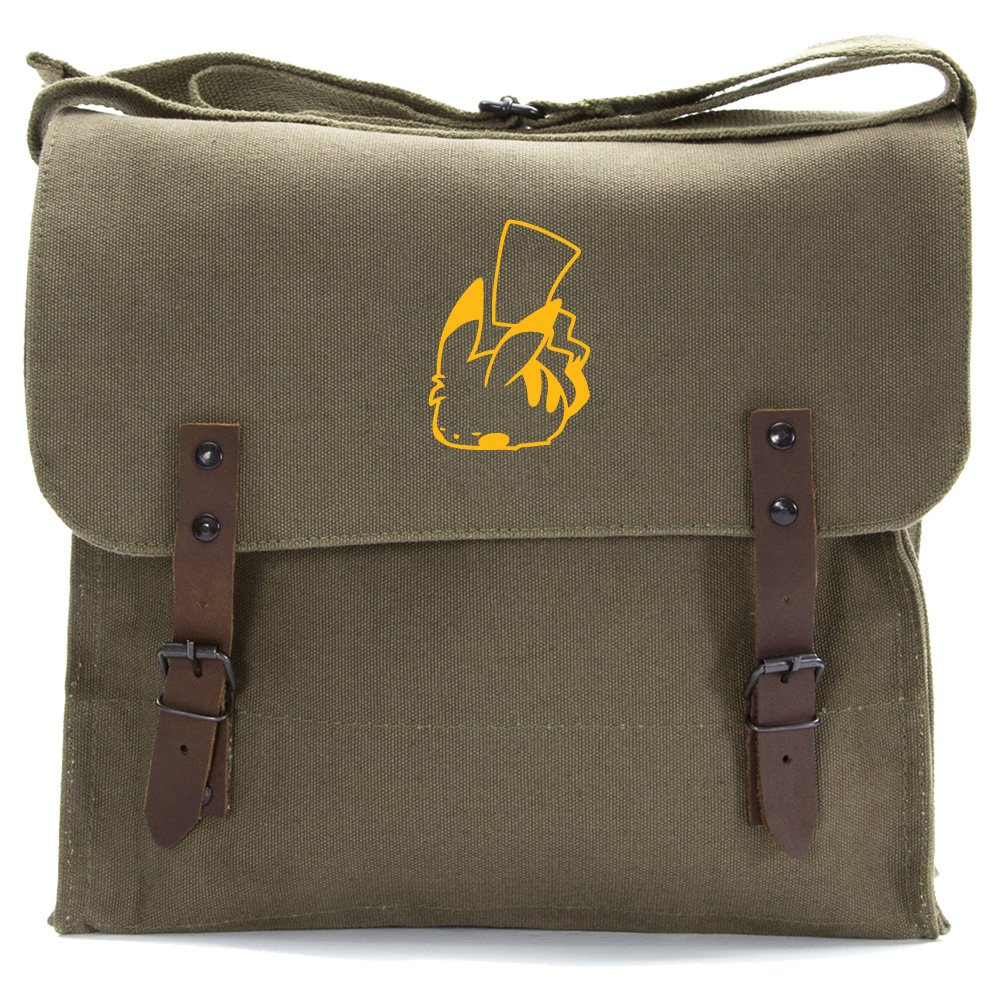 Pikachu Pokemon Heavyweight Canvas Medic Shoulder Bag