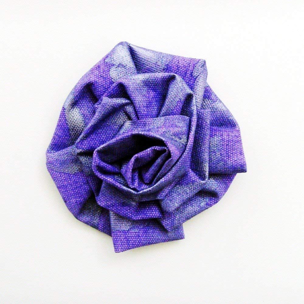 Amazon.com: Handmade African Violet Original Art Bloom Brooch - Pin /  ME2Designs Hand Painted Wearable Art: Handmade