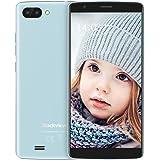 Blackview A20 Smartphone Offerta del Giorno, Offerte Cellulari 5.5 Pollici 18:9 Full HD, Batteria 3000mAh, 1GB + 8GB, Android Go, 3G Smartphone Offerta Blu
