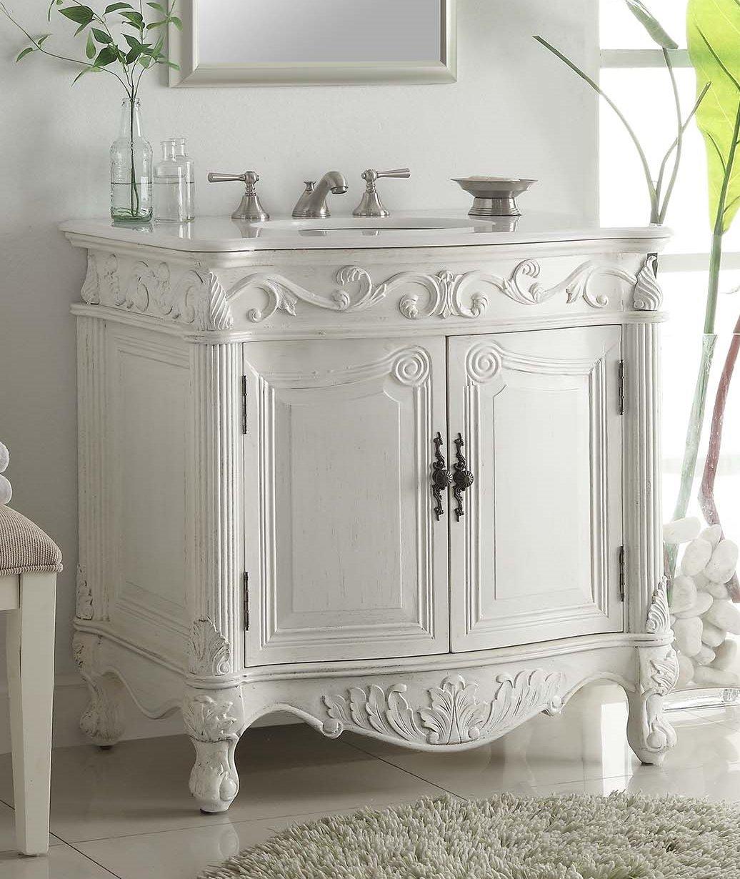 32 traditional style fiesta bathroom sink vanity cabinet cf 2873w aw barstools with backs amazoncom