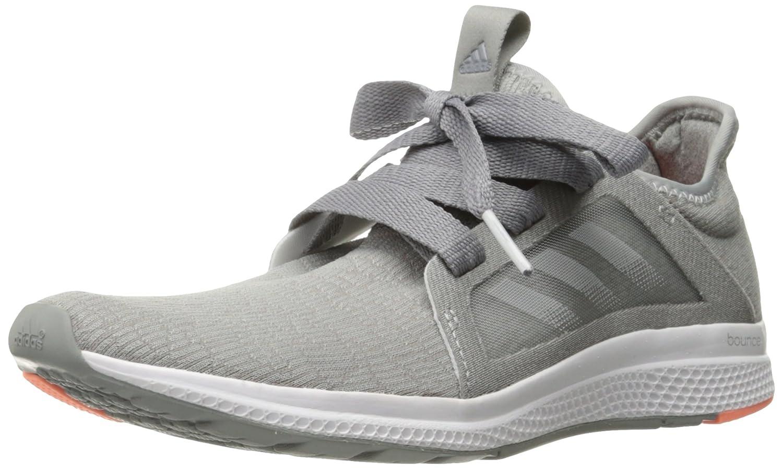 3f7e099e adidas Women's Edge Lux w Running Shoe Grey-Crystal White-Sun Glow 11 M US