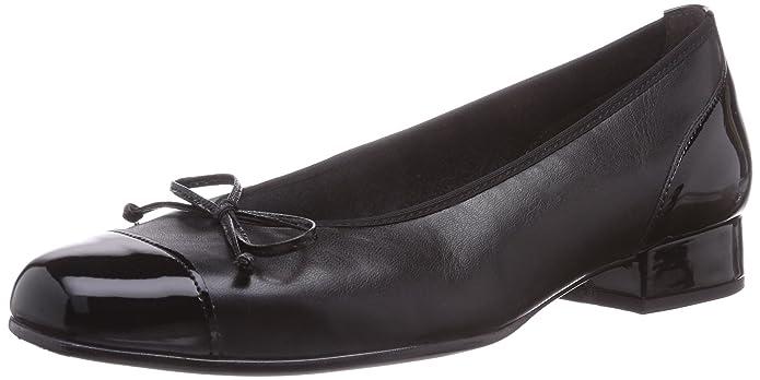 Gabor Shoes Comfort Basic, Damen Geschlossene Ballerinas, Schwarz (Schwarz 67), 40.5 EU (7 Damen UK)