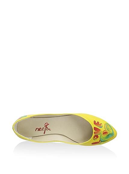 Eu Bailarinas 41 Neefs Y es Amazon Complementos Zapatos Amarillo qS7xHaxdwE