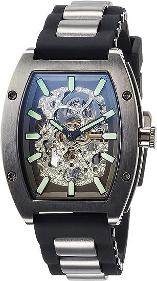 [アルカフトゥーラ] 自動巻き腕時計 トノースケルトン 978LH メンズ ブラック