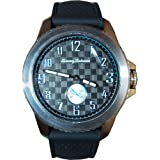 Tommy Bahama RELAX Men's 10018378 Kona Grand Prix Chronograph (Land) Analog Display Japanese Quartz Black Watch