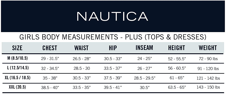 Nautica Girls' School Uniform Short Sleeve Pique Polo: Clothing