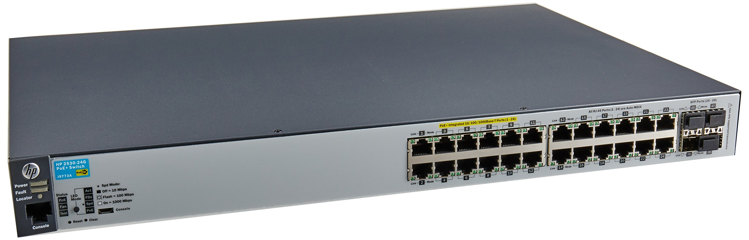 HP J9773AHP 2530-24G-PoE+ Switch by HP
