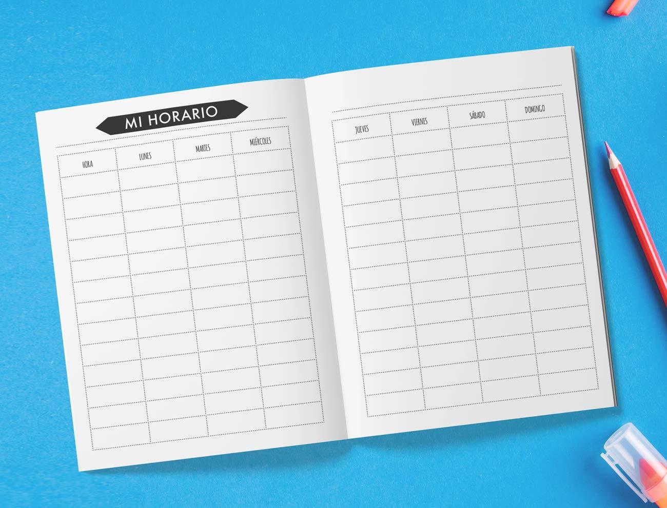 Agenda escolar 2019/2020: Agenda escolar diaria de ...