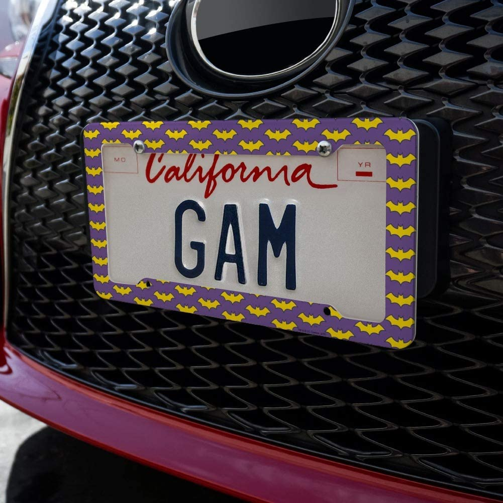 Graphics and More Batman Be Batman License Plate Tag Frame