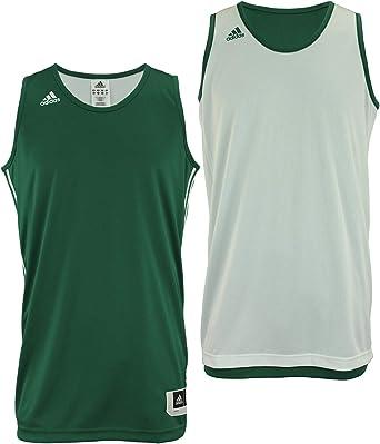 sencillo pastor de primera categoría  Amazon.com: adidas - Camiseta de baloncesto reversible para hombre: Clothing