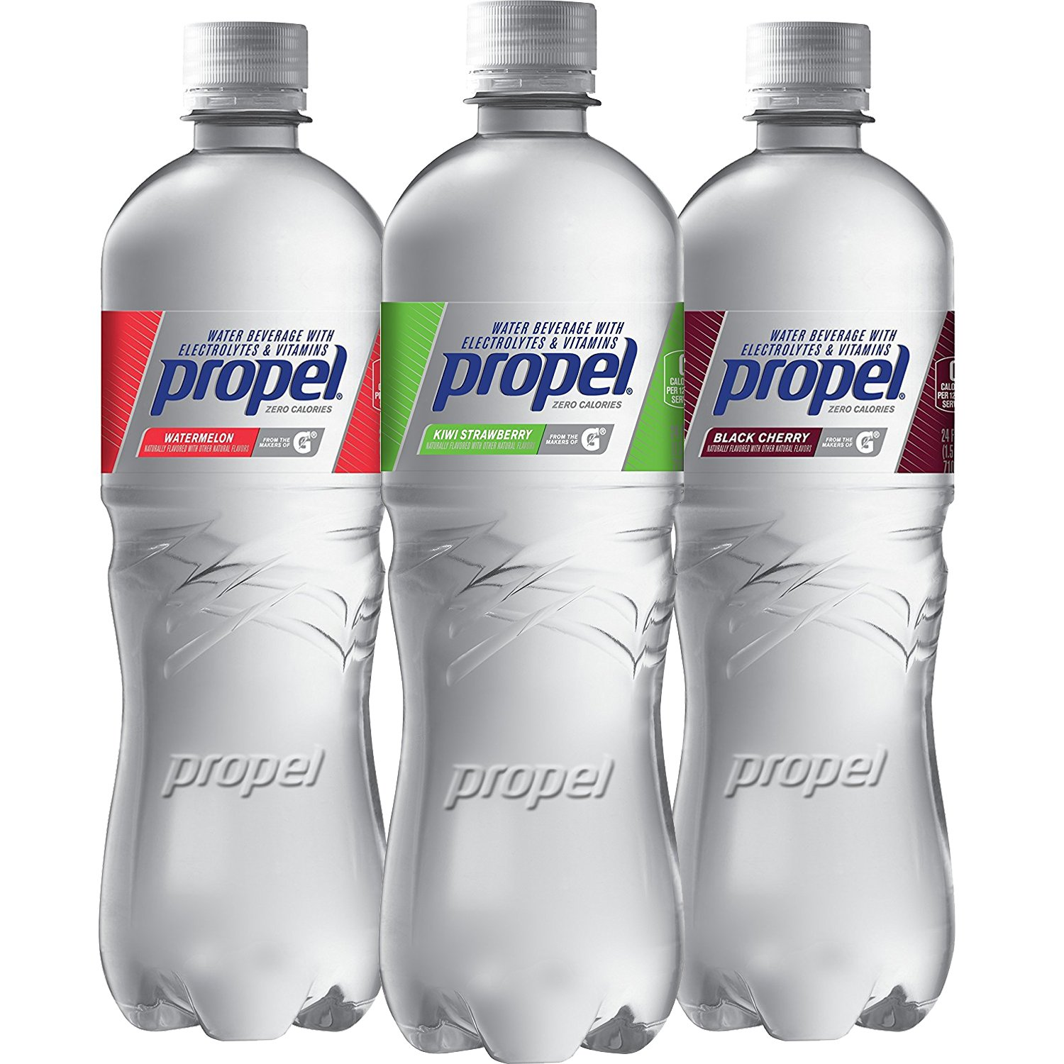 26f0b2292c Propel, 3 Flavor Variety Pack, Zero Calorie Water Beverage with ...