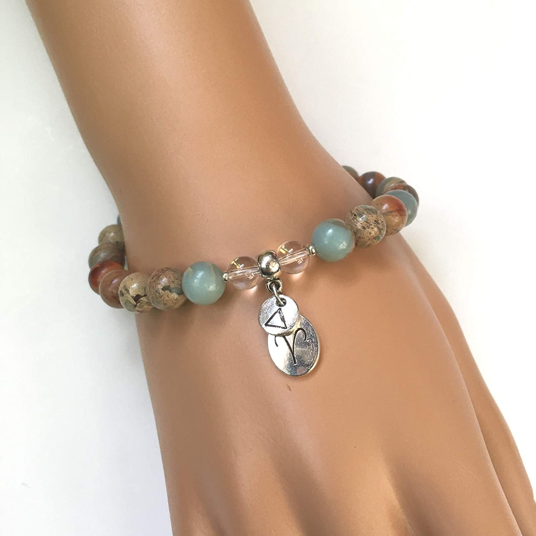 pearl jewelry chakra and macrame lanyard Black Obsidian Stone bracelet for men or women pearl black color
