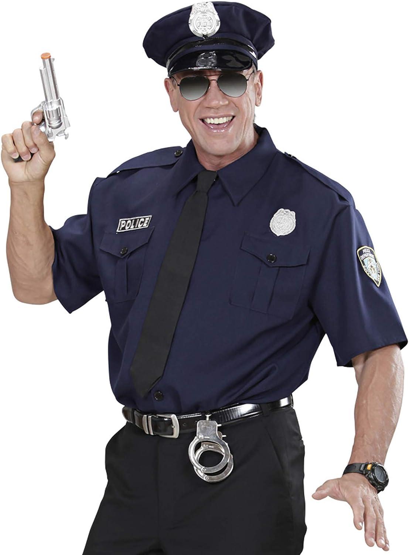 WIDMANN wdm1575p ? Disfraz para Adultos Policía NYPD, Azul, M ...