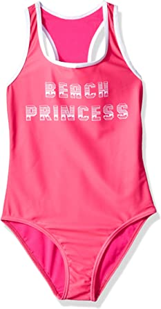 VIGOSS Girls Big Beach Princess Racerback Tankini