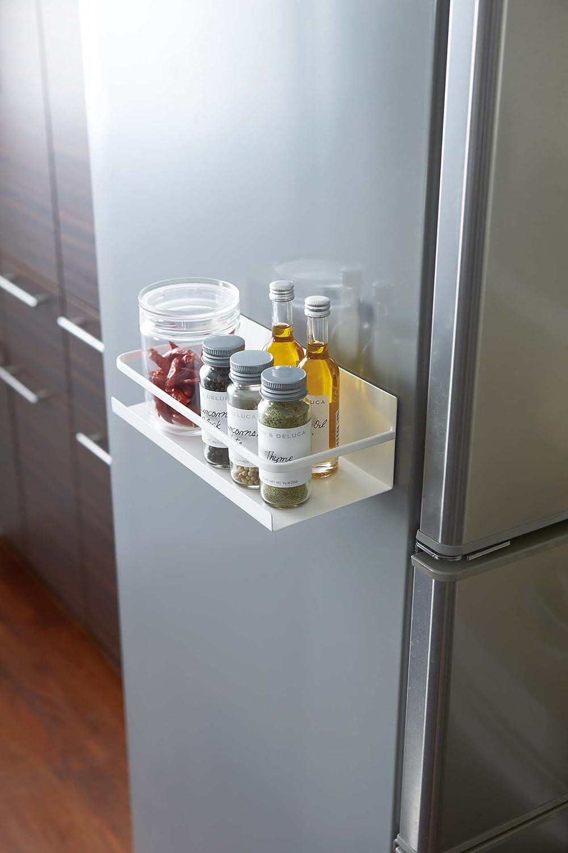 Amazon.com - YAMAZAKI home 2410 Plate Magnetic Spice Rack, White -