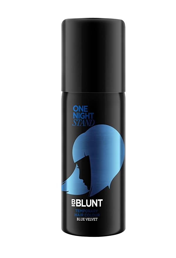 Coloring for Kids hair color spray for kids : Buy Bblunt One Night Stand Temporary HAir Color, Blue Velvet, 51ml ...