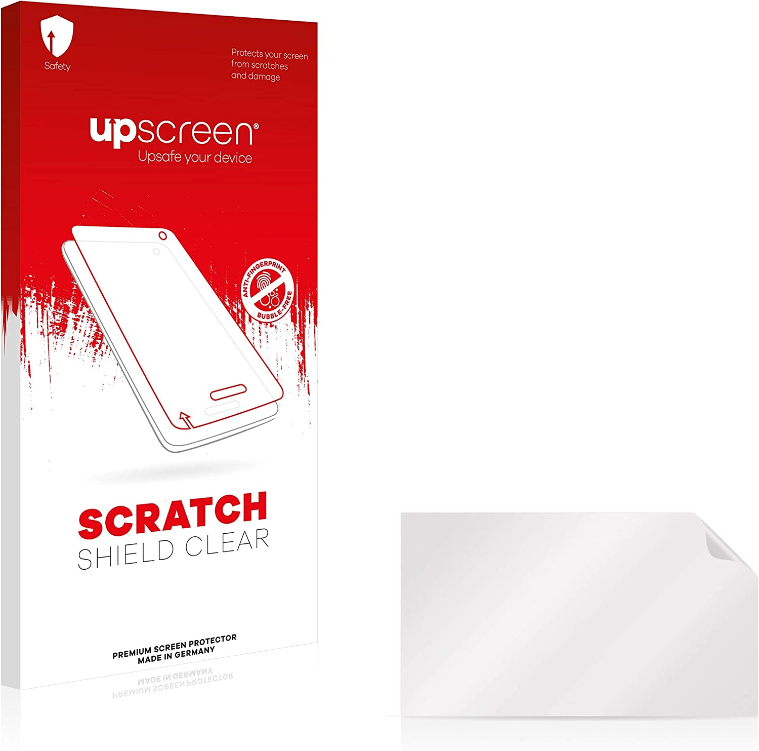 Multitouch Optimized Strong Scratch Protection upscreen Scratch Shield Clear Screen Protector for Sony HDR-CX900 High Transparency