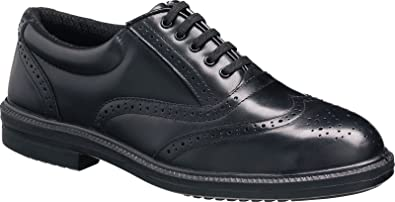 1a6473282e9 Tuffking 9076 S1P Black Steel Toe Cap Oxford Brogue Executive Safety Work  Shoes