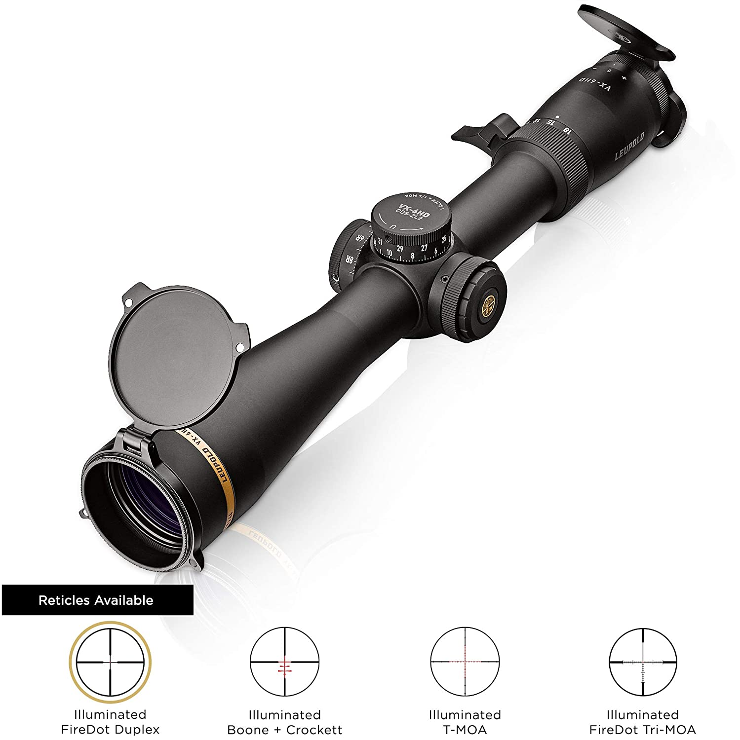TRUGLO TRU-BRITE 30 Series Illuminated Tactical Rifle Scope – Includes Scope Mount