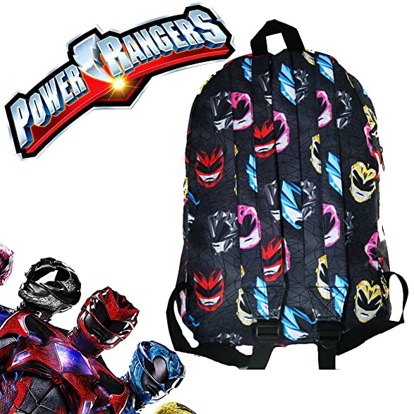 Amazon Mighty Morphin Power Rangers School Backpack Luggage Bag With Waterbottle Toys Games