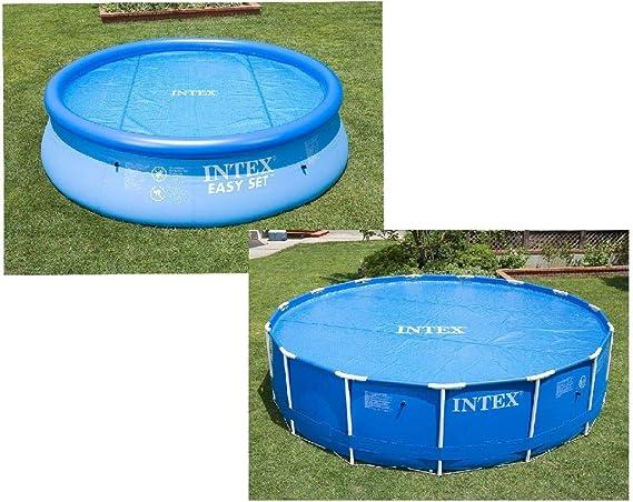 Intex 29022 - Cobertor solar para piscinas 366 cm de diámetro: Amazon.es: Jardín