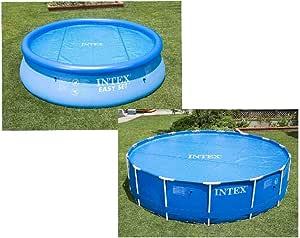 Intex 29022 - Cobertor solar para piscinas 366 cm de diámetro