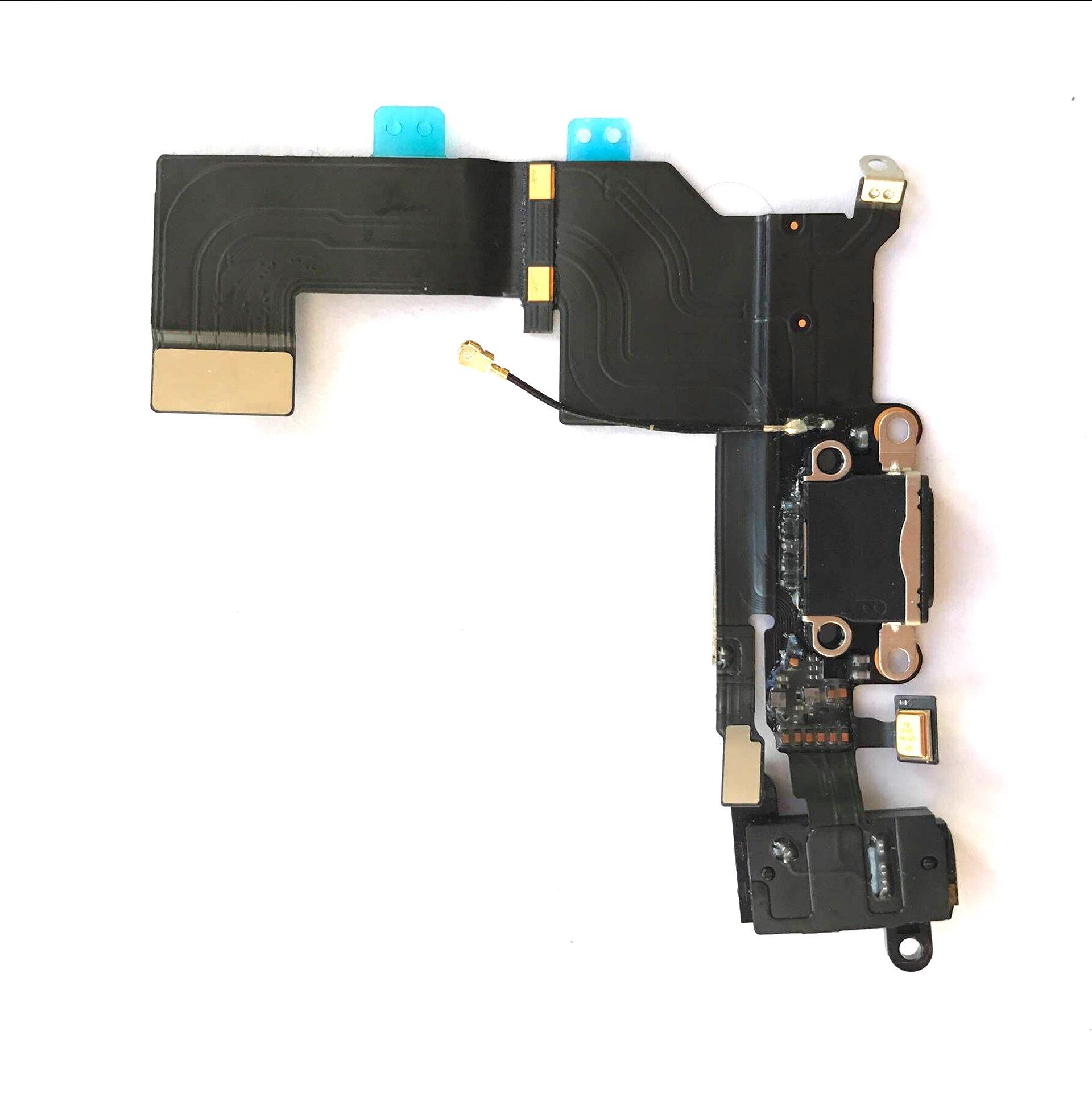 Puerto de Carga para iPhone 5S Black (HNZZ)