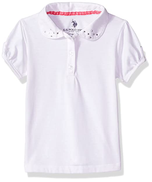 More Styles Available U.S Polo Assn Girls Polo Shirt