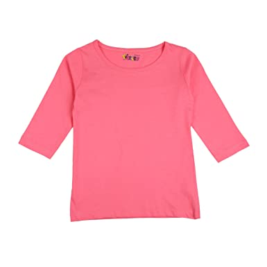 a2588db18b3cb6 Tickles Girls Bright Pink Top: Amazon.in: Clothing & Accessories