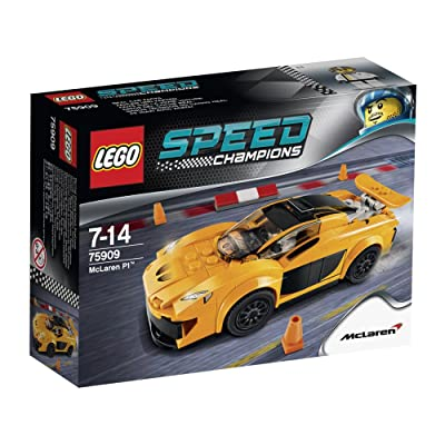 LEGO Speed Champions McLaren P1 TM (75909): Toys & Games