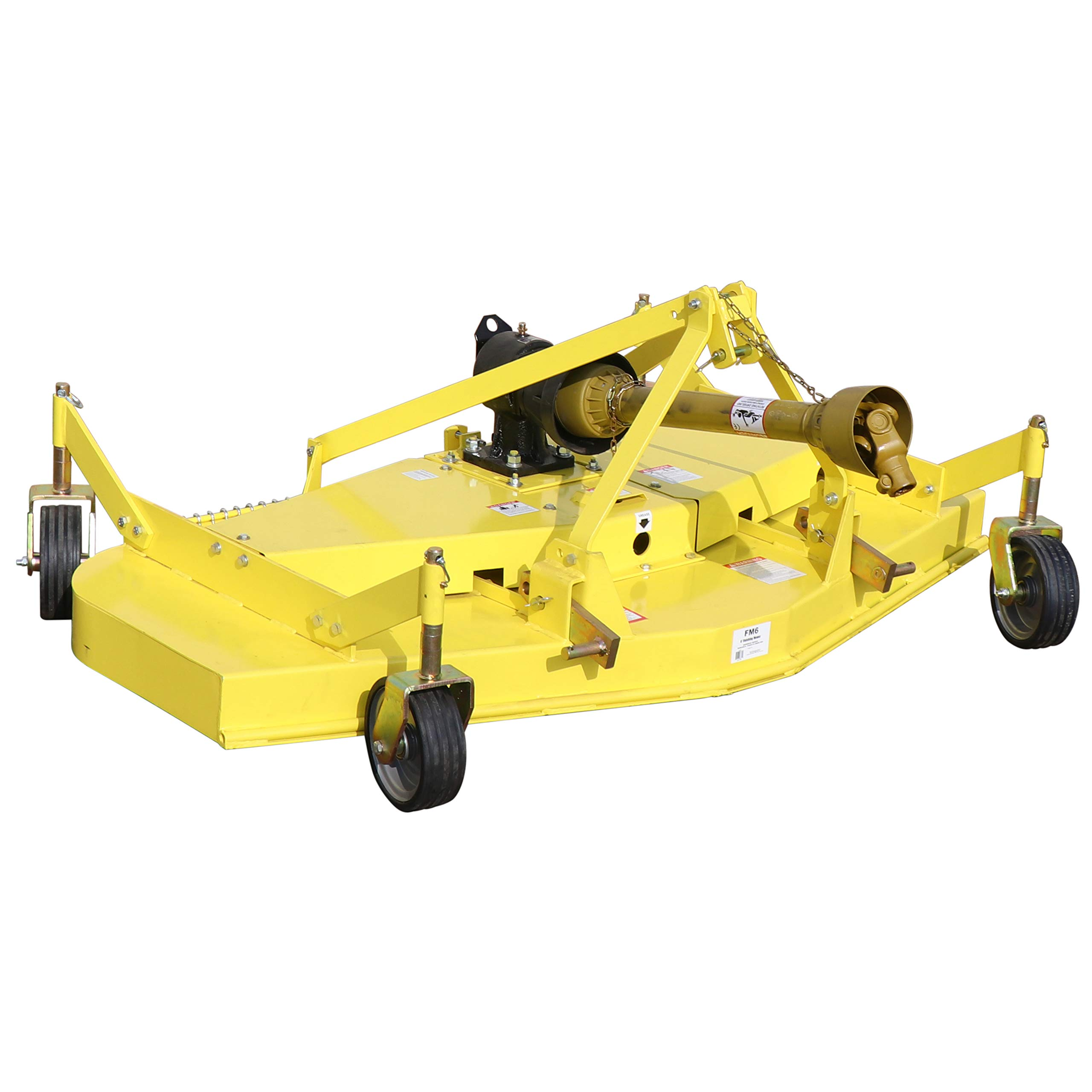 Titan Attachments Finishing Mower | Cat 1 3-Point | 6' by Titan Distributors Inc.