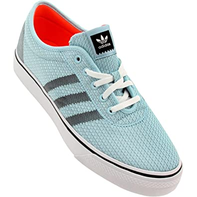 mens adidas adiease blu sopra le scarpe basse c77698