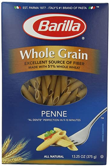 Barilla Whole Grain Penne Pasta (Pack of 4)