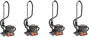Hoover Commercial CH32008 Hush Tone Canister Vacuum, 9 L (Pack of 4)