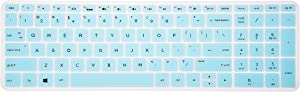 Keyboard Cover for HP Envy x360 2-in-1 15M-BP011DX 15M-BQ021DX 15M-BQ121DX 15-EF1020NR 15-EB0043DX 15-EF0023DX,17M-AE111DX,17-AK010NR,17-BS010NR 17-BS049DX 17-BS020NR Series Laptop - Mint