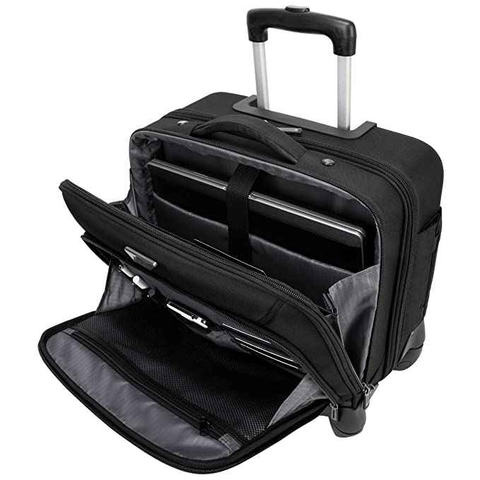 899edf1fb Targus Mochila/Funda, maletín con Ruedas, Negro: Amazon.com.mx: Electrónicos