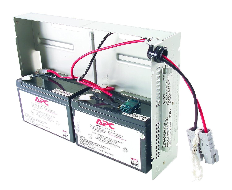 amazon com apc rbc22 replacement battery cartridge 22 home audio rh amazon com apc smart ups 1500 battery wiring diagram apc 1400 battery wiring diagram