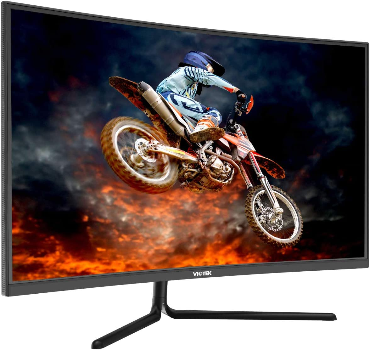 VIOTEK GNV32DB 32″ (2560 x 1440p) 144Hz Curved Gaming Monitor with G-Sync-Ready FreeSync