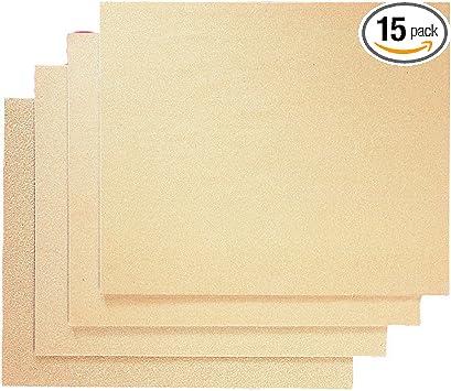 "Sandpaper Sheets 80 Grit 9/"" x 11/"" Silicon Carbide Sanding Sheets"