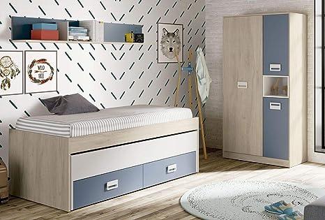 Miroytengo Pack habitacion Juvenil Lims 90x190 Estilo ...