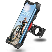 Bovon Soporte Movil Bicicleta, Anti Vibración Soporte Movil Bici Montaña con 360° Rotación para Moto, Universal Manillar…
