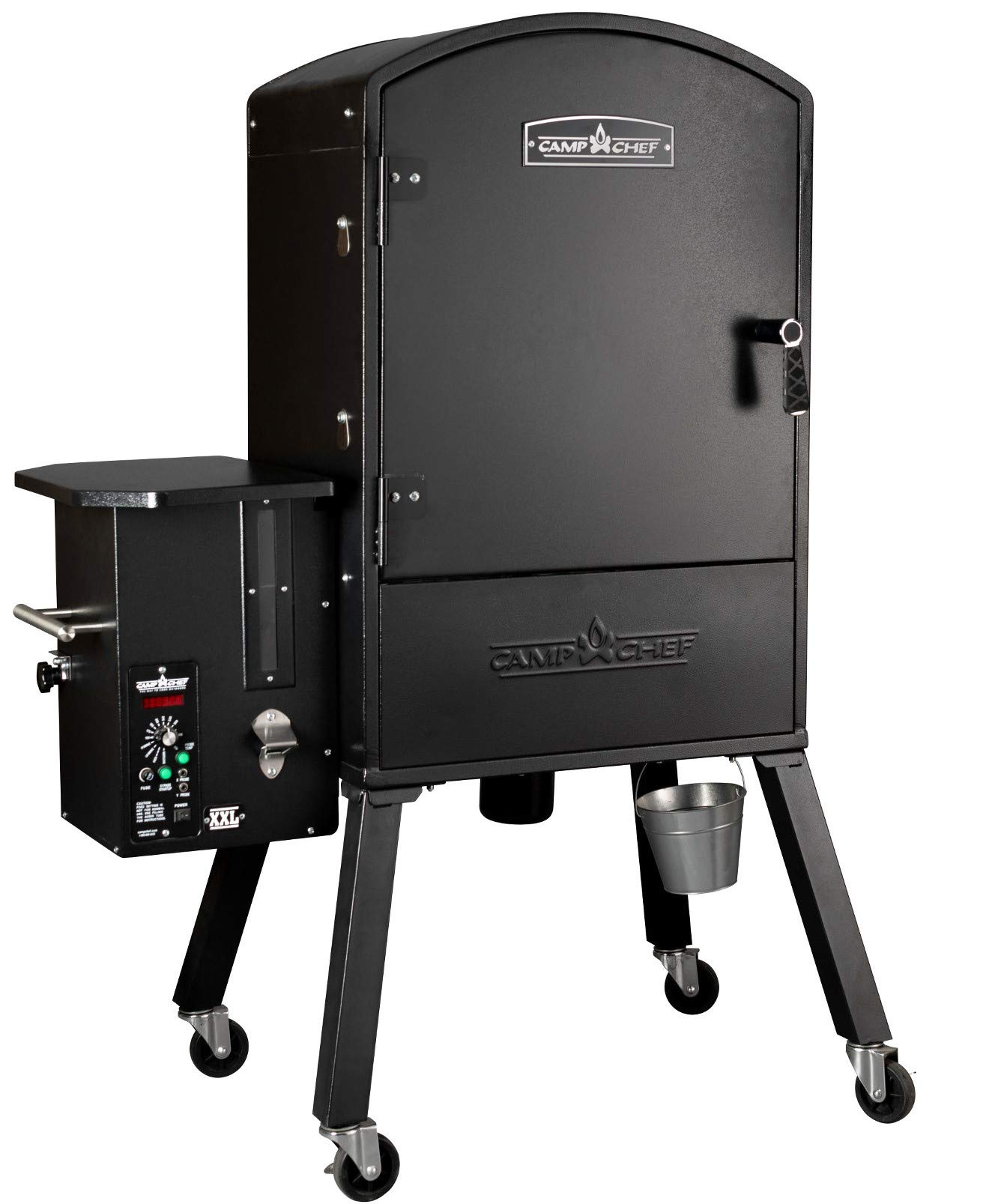 Camp Chef XXL Vertical Pellet Grill and Smoker (PGVXXL) - Smart Smoke Technology - Patented Ash Cleanout - Digital Display - Pellet Purge System by Camp Chef (Image #2)