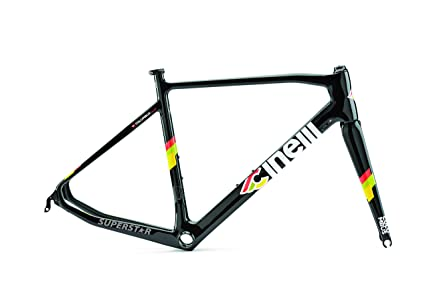 3f4438781b1 Amazon.com : Cinelli Superstar Carbon Road Frameset : Sports & Outdoors