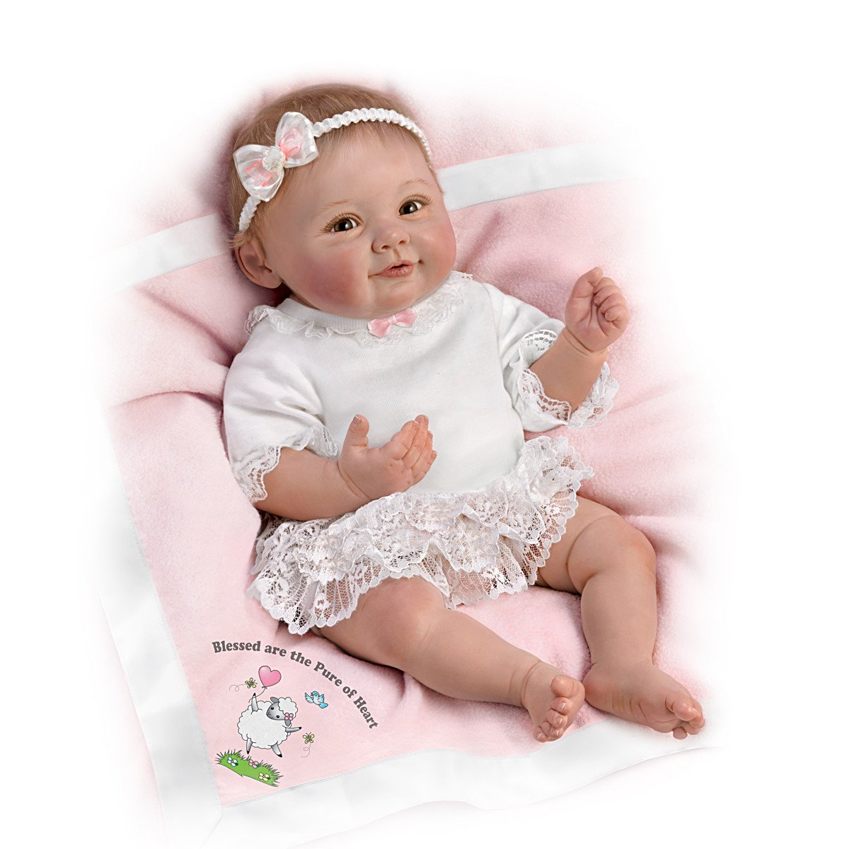 Blessed are the Pure of Heart Ashton Drake Doll by Ping Lau 18 inches