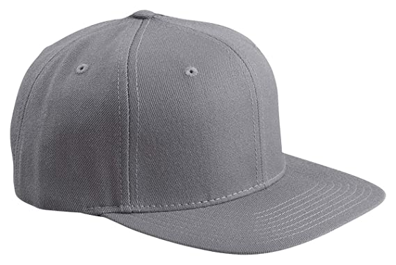 7ebd54ae8a6 Amazon.com  Original Yupoong Pro-Style Wool Blend Snapback Snap Back Blank  Hat Baseball Cap 6098M - Black  Clothing