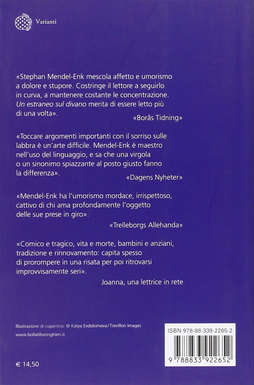 Un estraneo sul divano: Stephan. Mendel-Enk: 9788833922652: Amazon ...