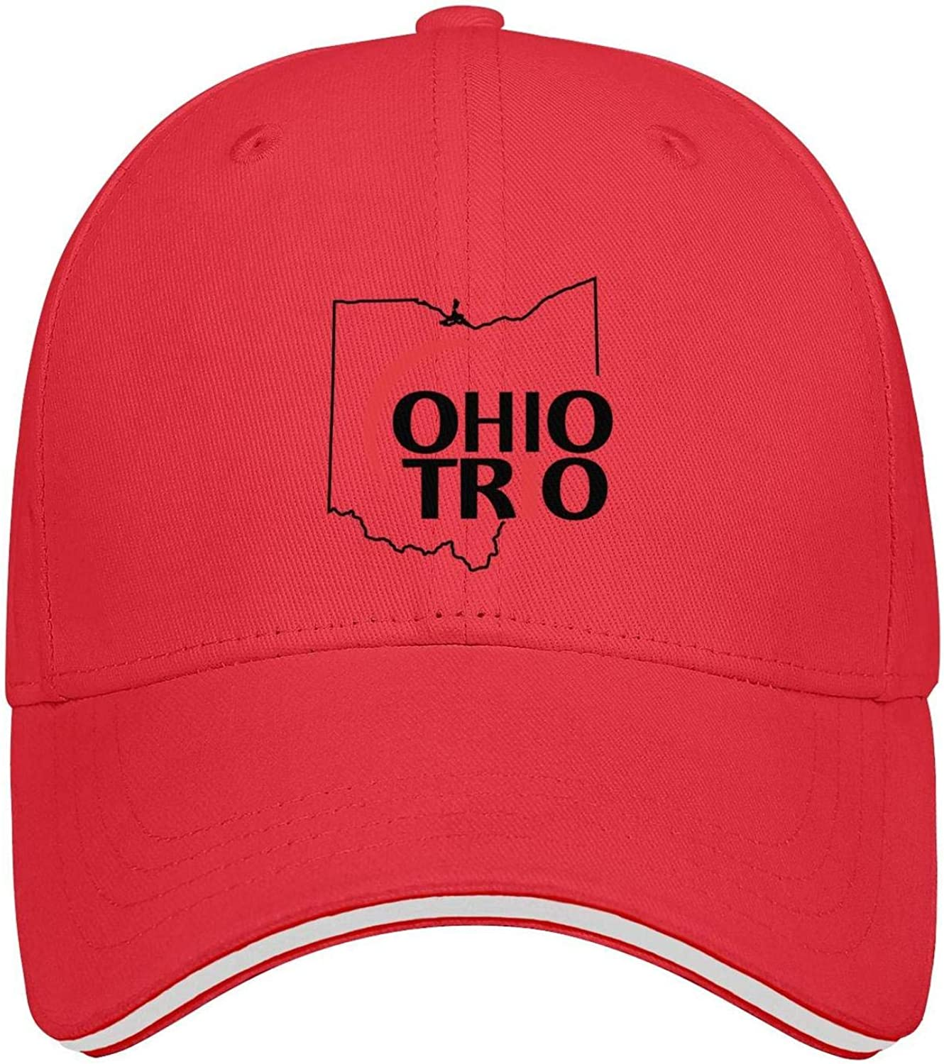 Evelth Sandwich Baseball Hat Baseball Caps Ohio Trio Unisex Snapback Adjustable Hat